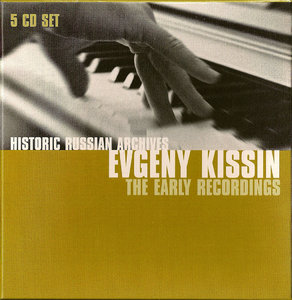 Evgeny Kissin - The Early Recordings (2007) 5 CD Box Set [Historic Russian Archives] Re-Up