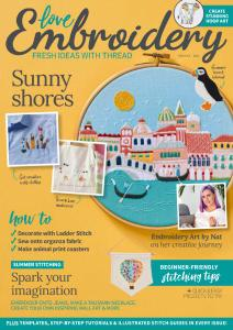 Love Embroidery - Issue 16 - July 2021
