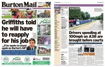Burton Mail – September 10, 2018
