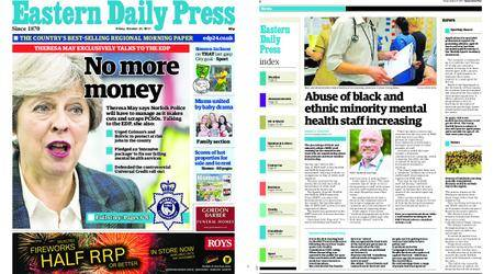 Eastern Daily Press – October 27, 2017