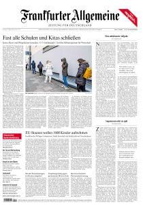 Frankfurter Allgemeine Zeitung - 14 März 2020