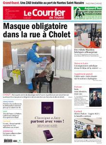 Le Courrier de l'Ouest Cholet – 10 septembre 2020