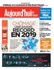 Aujourd'hui en France - 28 Janvier 2020