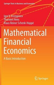 Mathematical Financial Economics A Basic Introduction
