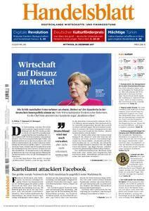 Handelsblatt - 20. Dezember 2017