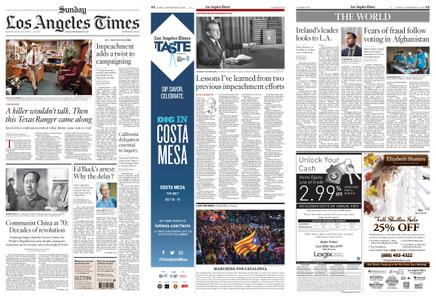 Los Angeles Times – September 29, 2019