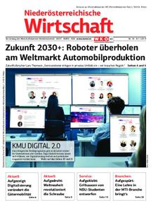 Niederösterreichische Wirtschaft – 08. November 2019