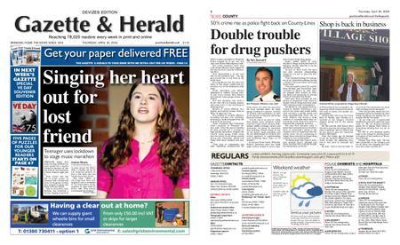 Gazette & Herald – April 30, 2020