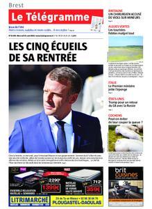 Le Télégramme Brest Abers Iroise – 21 août 2019