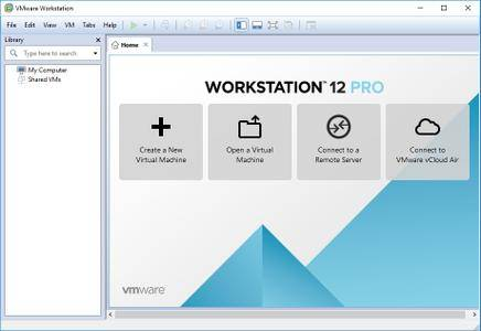 VMware Workstation Pro 12.5.7 Build 5813279