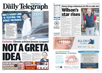 The Daily Telegraph (Sydney) – June 15, 2020