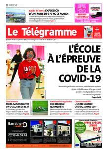 Le Télégramme Brest – 15 septembre 2020