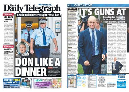 The Daily Telegraph (Sydney) – April 10, 2020