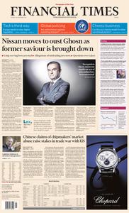 Financial Times Europe – 20 November 2018