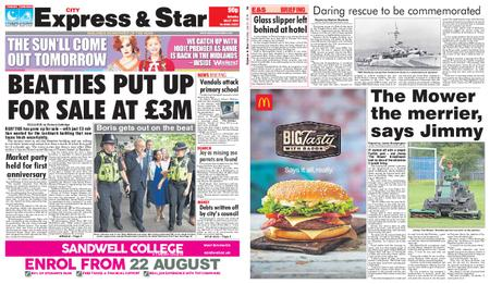 Express and Star City Edition – July 27, 2019
