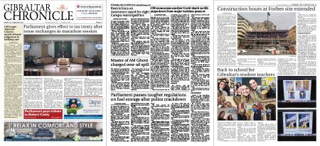 Gibraltar Chronicle – 26 February 2021