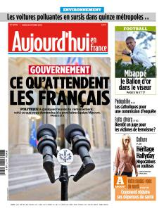 Aujourd'hui en France du Mardi 9 Octobre 2018