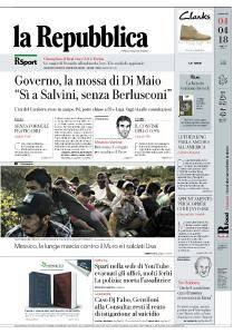 la Repubblica - 4 Aprile 2018