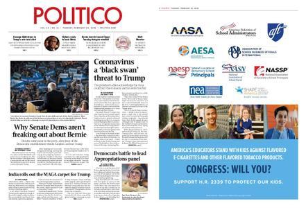 Politico – February 25, 2020