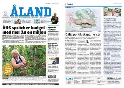 Ålandstidningen – 15 augusti 2018