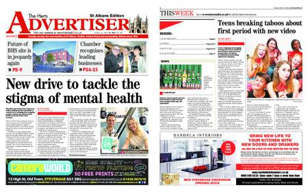 The Herts Advertiser – October 11, 2018