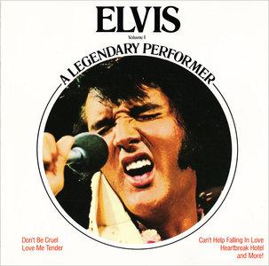 Elvis Presley - A Legendary Performer, Volume 1 (1973) [Re-Up]