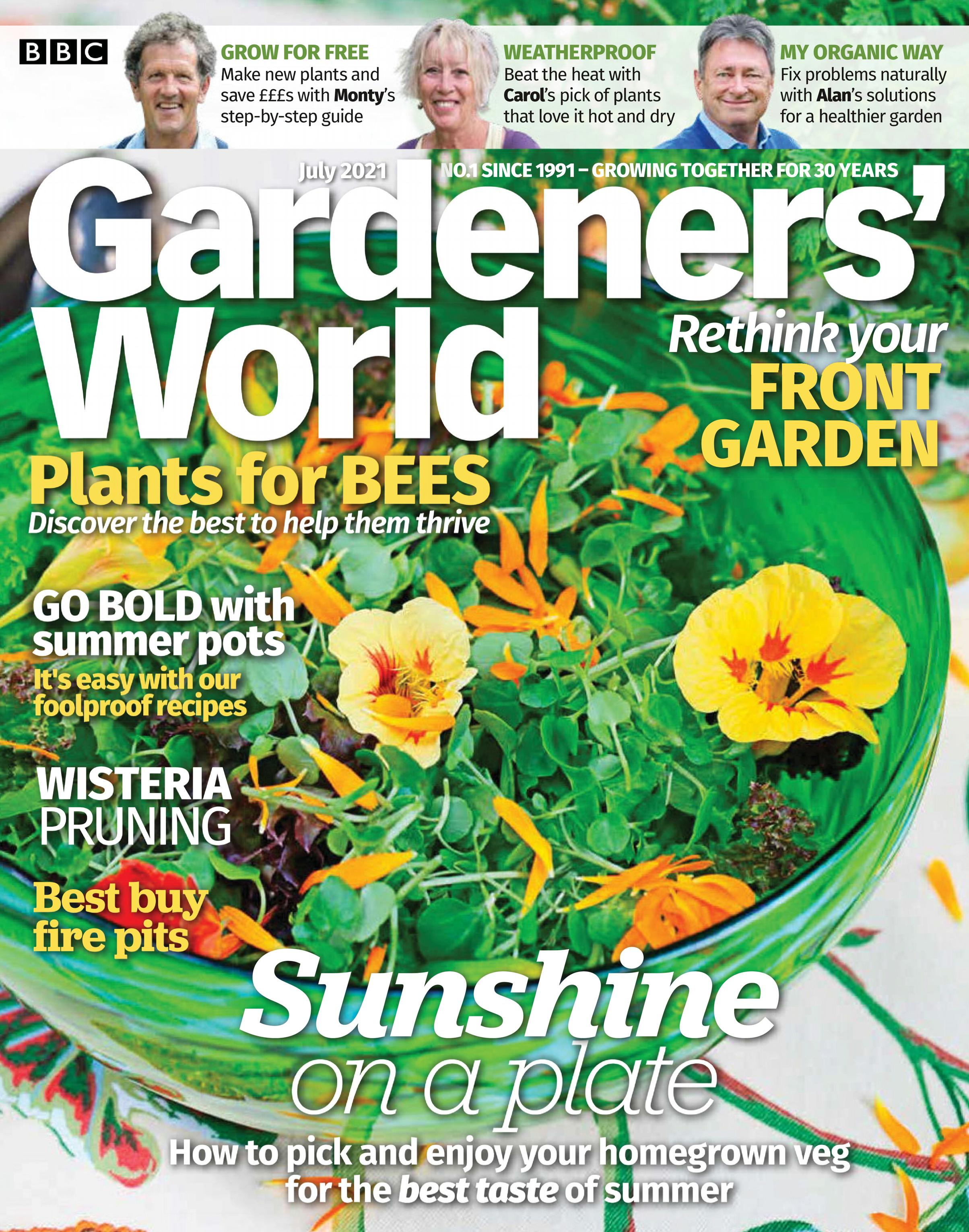 BBC Gardeners' World - July 2021 / AvaxHome