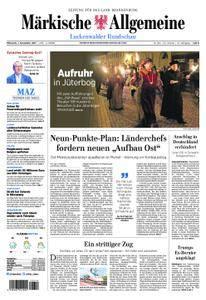 Märkische Allgemeine Luckenwalder Rundschau - 01. November 2017