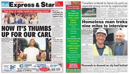 Express and Star Sandwell Edition – July 04, 2018
