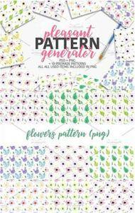 CreativeMarket - Pleasant Pattern generator