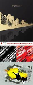 Vectors - Creative Grunge Backgrounds 20