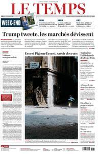 Le Temps - 03 août 2019