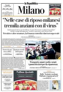 la Repubblica Milano - 17 Aprile 2020