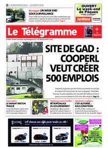 Le Télégramme Landerneau - Lesneven – 03 avril 2021