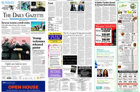 The Daily Gazette – October 14, 2018