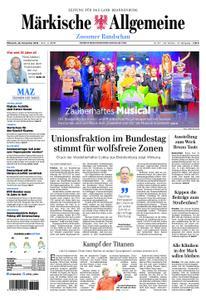 Märkische Allgemeine Zossener Rundschau - 28. November 2018