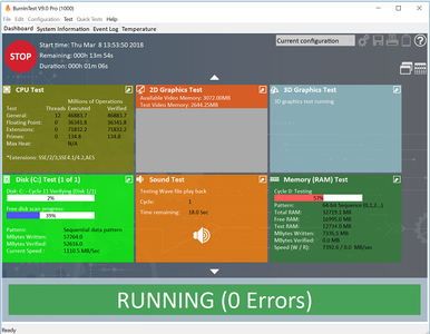 BurnInTest Professional 9.0 Build 1014 Portable