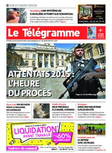 Le Télégramme Brest Abers Iroise – 06 septembre 2021