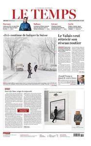 Le Temps - 18 janvier 2018