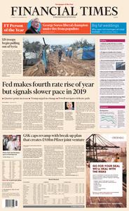 Financial Times Europe – 20 December 2018
