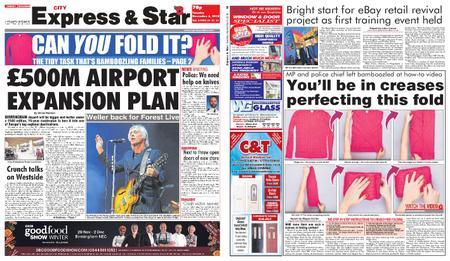 Express and Star City Edition – November 06, 2018