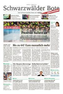 Schwarzwälder Bote St. Georgen, Triberg, Furtwangen - 04. Februar 2019