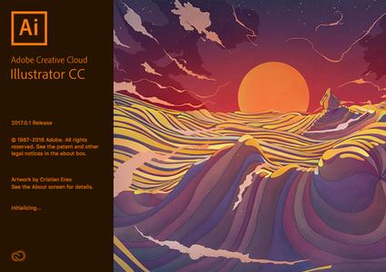 Adobe Illustrator CC 2017 v21.0.2 Multilingual Mac OS X