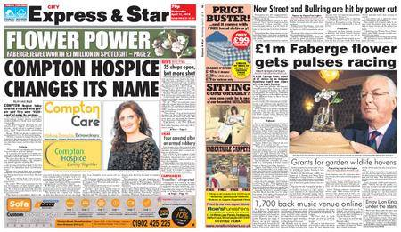 Express and Star City Edition – April 11, 2018