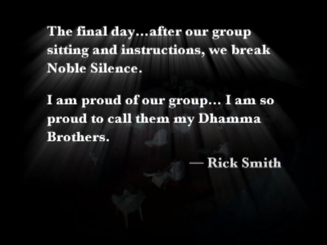 The Dhamma Brothers (2007)