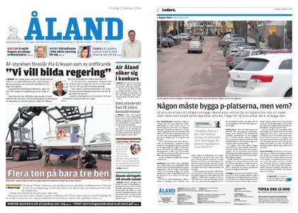 Ålandstidningen – 17 oktober 2018