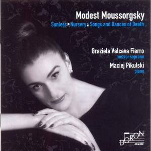 Graziela Valceva Fierro - Mussorgsky: Sunless, Nursery & Songs and Dances of Death (2019)