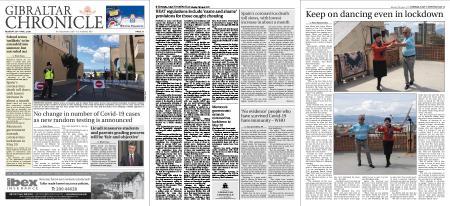Gibraltar Chronicle – 20 April 2020