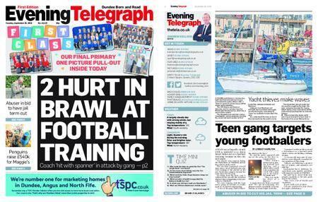 Evening Telegraph First Edition – September 25, 2018