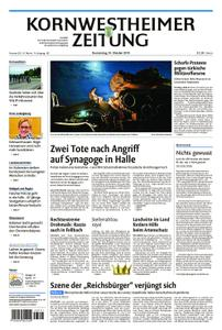 Kornwestheimer Zeitung - 10. Oktober 2019